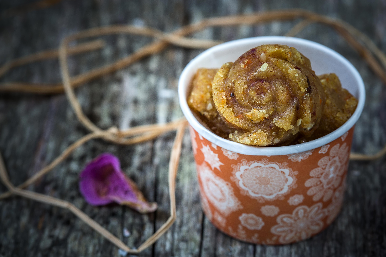 Recette du gâteau de semoule indien appelé «SHIRO»