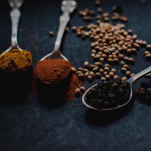 épices pour l'atelier semaine du goûtt